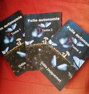Recevoir les anciens tomes du recueil mensuel de Folle autonomie